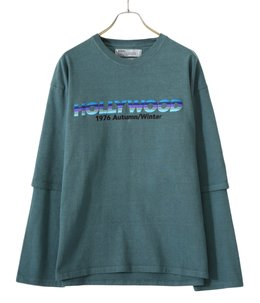 """HOLLYWOOD"" Layered T-shirt"