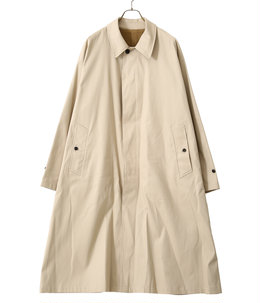 COTTON CHINO TWILL / BALMACAAN COAT