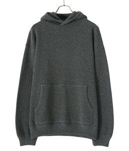 Moss stitch hoodie