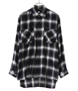 ETS.Ombrecheck Flannel shirt
