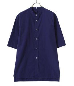 Band collar shirt S/S