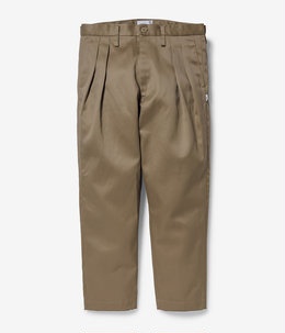 TUCK 02 / TROUSERS / COTTON. TWILL