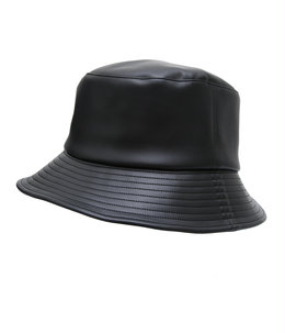 【ONLY ARK】別注 Synthetic Leather Bucket Hat