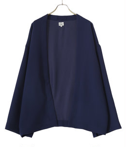 【予約】STRETCH DOUBLE CLOTH CARDIGAN