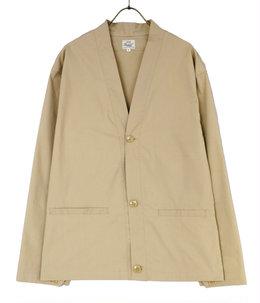 STRETCH WEATHER CLOTH CARDIGAN