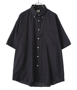 【予約】VAT DYE CHAMBRAY B.D. SHIRT