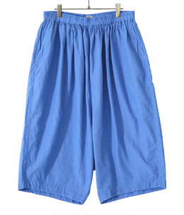 【予約】VAT DYE CHAMBRAY BALLOON SHORTS