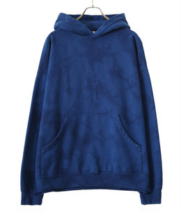 BIG POCKET BOX SWEAT PARKA TIE-DYED