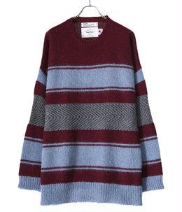 Molly Border Mohair Knit