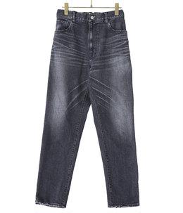 【予約】12oz. STRETCH DENIM CARROT EASY PANTS AGING MODEL MIDDLE WASH
