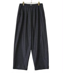 【予約】WOOL SURGE (SUPER 120's) WIDE EASY PANTS