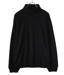 WASHABLE WOOL L/S LOOSE NECK TEE