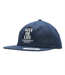 """EMBROIDERY CAP """"WAY OF LIFE"""""""