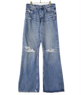 Damage Flare Denim Pants
