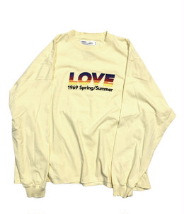 """LOVE"" Vintage Long Sleeve Tee"