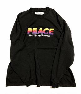 """""""PEACE"""" Vintage Long Sleeve Tee"""