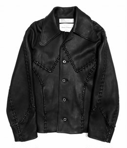 Hand Stitch Leather jacket