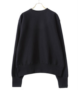 CROSS KNIT CREW NECK