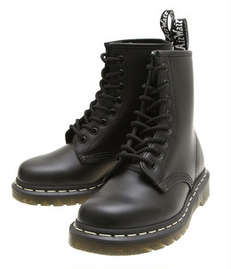 【予約】【レディース】1460 8-EYE BOOT WHITE STITCH SMOOTH