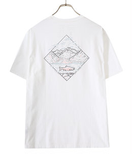 M's Wild Home Waters Organic T-Shirts -WHRI-