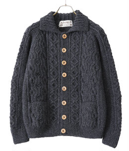 Lumber Cardigan -CHARCOAL- (Size:40.42)