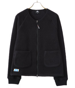 【予約】PILE FLEECE RIB CARDIGAN