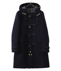 Wool Cashmere Melton Duffle Coat