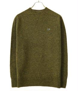 【予約】Shetland Wool Crew Neck Sweater