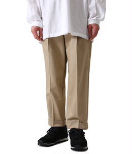 San Joaquin Cotton Tapered Pleated Trousers
