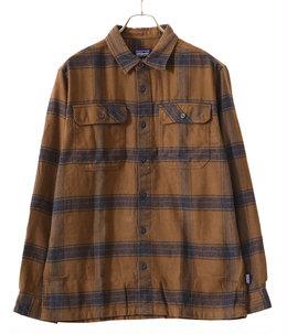 M's L/S Fjord Flannel Shirt -BUOB-
