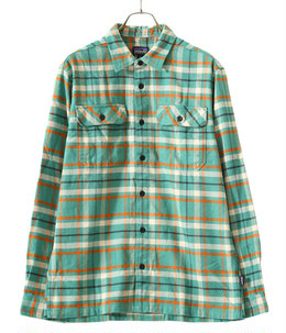M's L/S Fjord Flannel Shirt -IEGR-