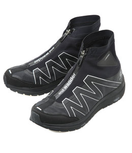 【予約】reflective highcut sneakers by salomon
