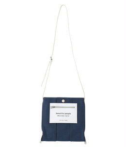 【予約】【レディース】lining logo pocket mini shoulder bag