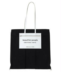 【予約】【レディース】lining logo pocket tote bag
