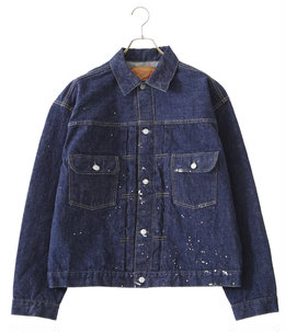 【ONLY ARK】別注50's DENIM JACKET ONE WASH+PAINT