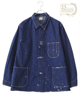 【ONLY ARK】別注MEN'S 40's COVERALL O/W+PAINT