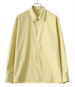 WASHED FINX TWILL BOX SHIRTS