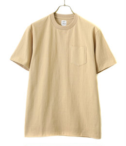 POCKET TEE S/S made of USA yarn