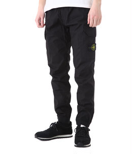 STRETCH COTTON TELA PARACADUTE CARGO PANTS