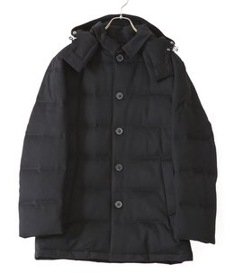 Wool down jacket
