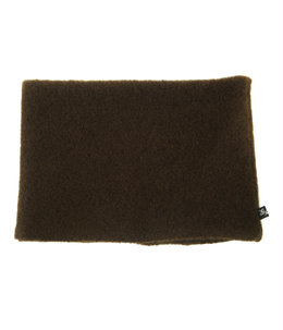 BOUCLE WOOL KNIT NECK WARMER