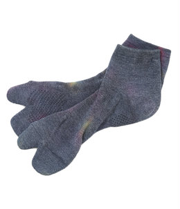 Thumb Ankle Socks - Cool Max / Uneven Dye