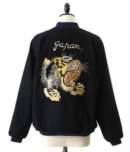 "WOOL SOUVENIR JACKET ""Tiger""/""Eagle&dragon"""