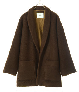 WOOL SHAGGY ROBE JACKET