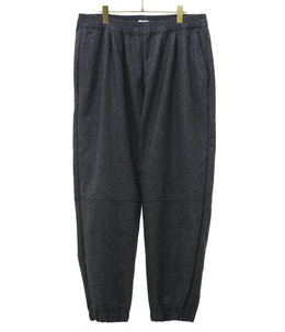 WOOL SOLID TRACK PANTS