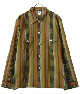 Smokey Shirt - Cotton Cloth / Ikat Pattern