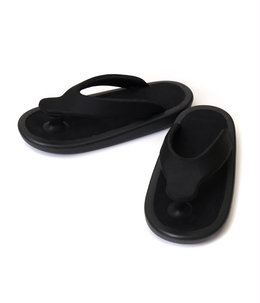 """BEACH SANDAL"" ALL BLACK"