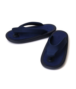 """BEACH SANDAL"" ALL NAVY"
