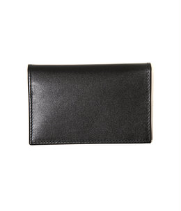 VISITING CARD CASE BLK/PPL