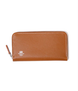 ZIP ROUND PURSE(London Calf×Bridle Leather Collection)